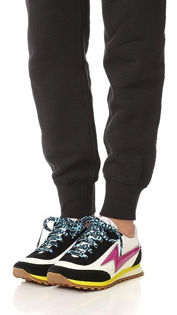 Marc Jacobs Astor 闪电形图案运动鞋