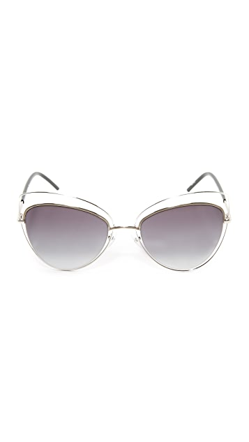 Marc Jacobs Double Rim 猫眼太阳镜