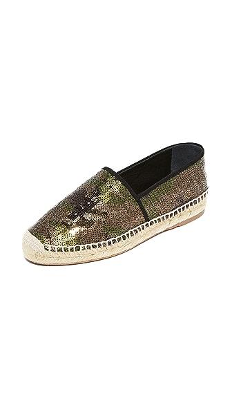 Marc Jacobs Sienna 编织底帆布便鞋