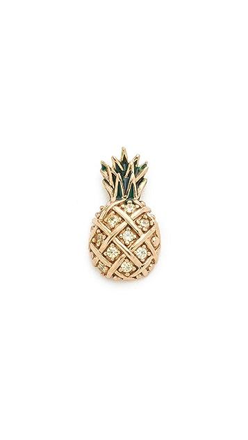 Marc Jacobs 菠萝形单耳钉