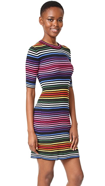 Marc Jacobs 彩虹毛衣连身裙