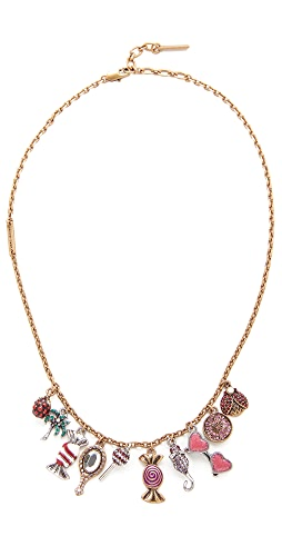 Missoni Solid Perfume Charm Necklace ⋆ Forever Amber