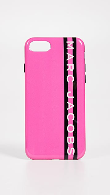 Marc Jacobs 织带 iPhone 7 / 8 手机壳