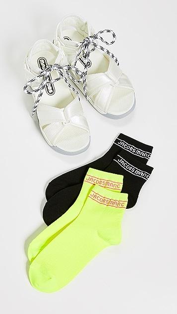 Marc Jacobs Somewhere Sport 袜式凉鞋