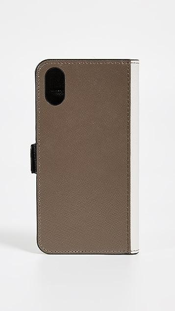 Marc Jacobs Double J Folio iPhone XR 手机壳