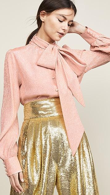 Marc Jacobs 领口系带女式衬衫