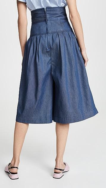 Marc Jacobs 高腰短裙裤