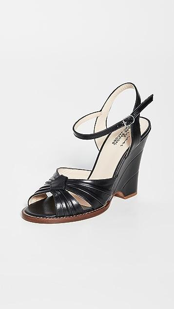 Marc Jacobs Sofia 挚爱: 坡跟凉鞋