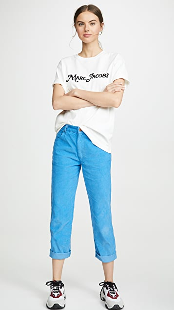 Marc Jacobs 徽标 T 恤