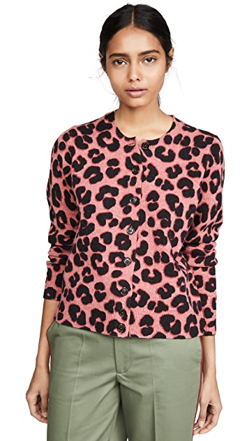 Marc Jacobs 印花开襟衫