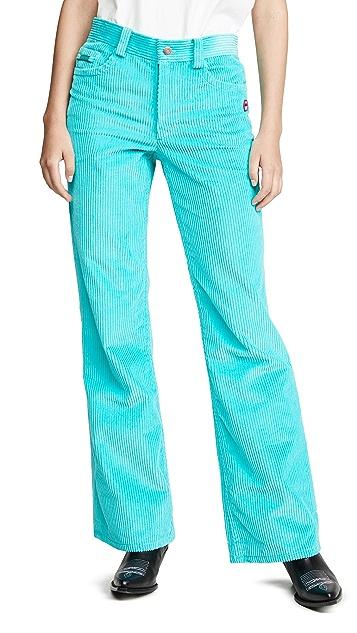 Marc Jacobs 灯芯绒喇叭牛仔裤