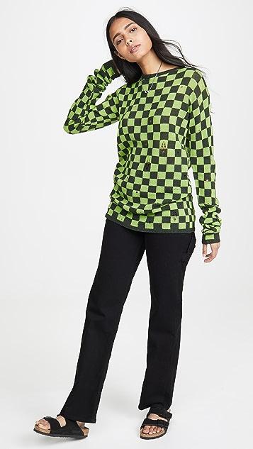 Marc Jacobs 方格纹毛衣