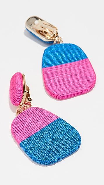 玛丽珍鞋 小号尺寸新颖耳环