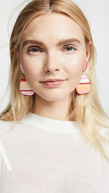 MaryJane Claverol 小号尺寸新颖耳环