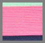 浅绿/荧光粉色/牛仔蓝