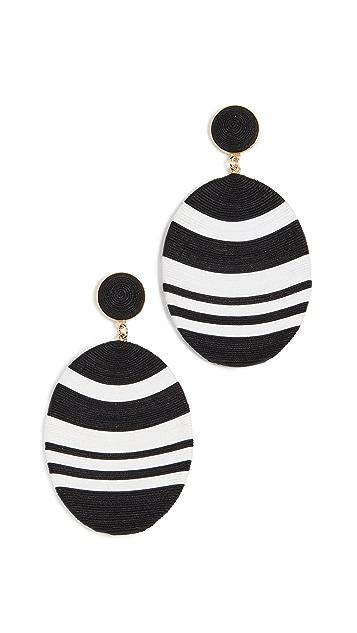 MaryJane Claverol Large Newton 耳环