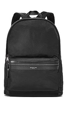 Michael Kors Kent Nylon Backpack,Black