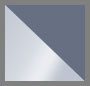 银 / 蓝灰色