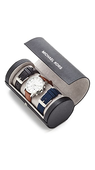 Michael Kors Gage 计时手表套装