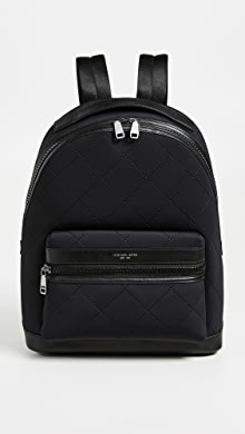 Michael Kors Odin Neoprene Backpack,Black