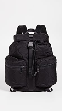 마이클 코어스 Michael Kors Kent Sport Zip Backpack,Black