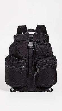 Michael Kors Kent Sport Zip Backpack,Black