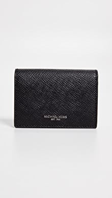 마이클 코어스 Michael Kors Harrison Card Case,Black
