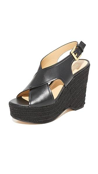 MICHAEL Michael Kors Angeline 坡跟鞋