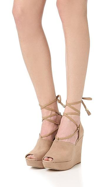 MICHAEL Michael Kors Hastings 坡跟鞋