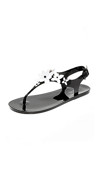MICHAEL Michael Kors Lola 夹趾果冻凉鞋