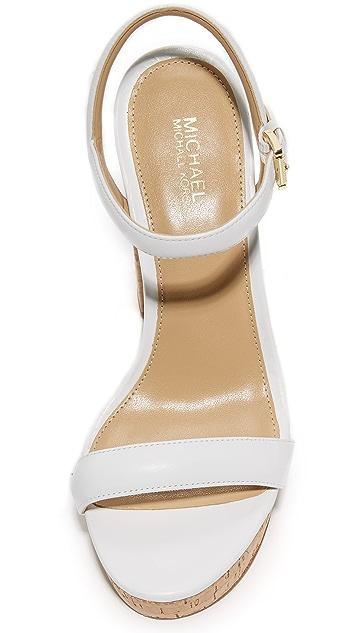 MICHAEL Michael Kors Dallas 厚底凉鞋