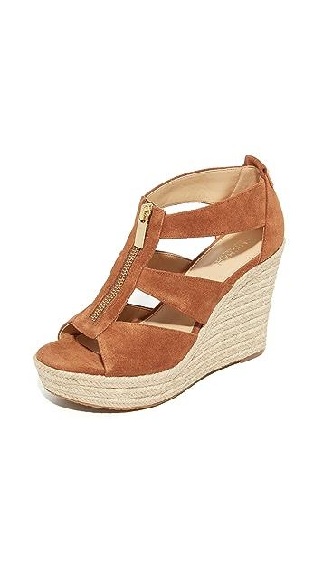 MICHAEL Michael Kors Damita 坡跟鞋