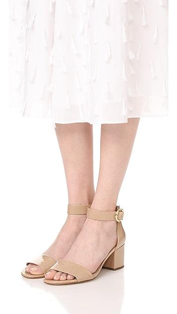 MICHAEL Michael Kors Lena Mid City 凉鞋