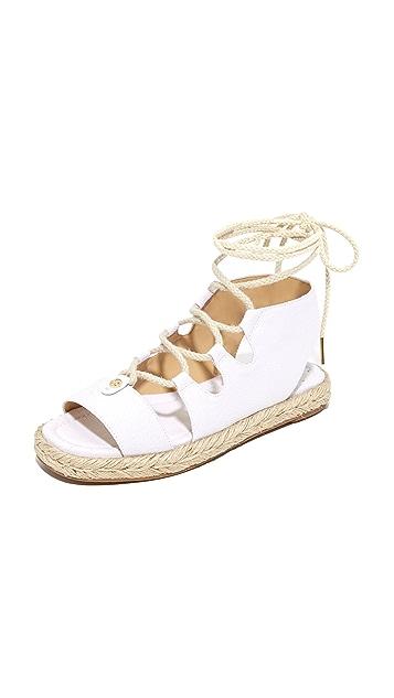 MICHAEL Michael Kors McKenna 系带凉鞋