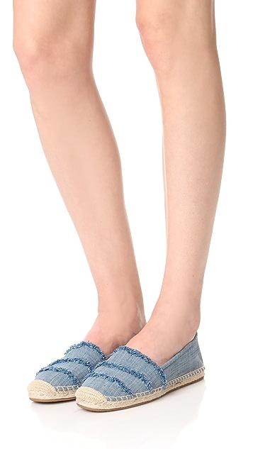 MICHAEL Michael Kors Tibby 编织底布面便鞋