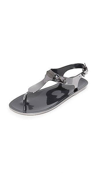 MICHAEL Michael Kors MK 饰牌果冻凉鞋