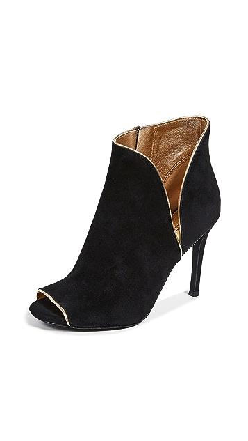 MICHAEL Michael Kors Harper 露趾短靴