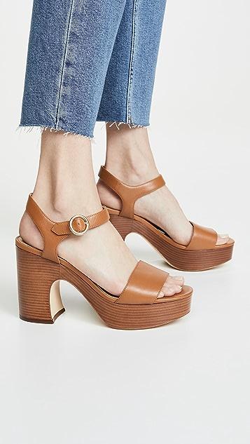 MICHAEL Michael Kors Fiona 厚底凉鞋