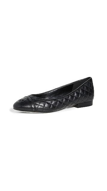 MICHAEL Michael Kors Dylan 绗缝芭蕾平底鞋