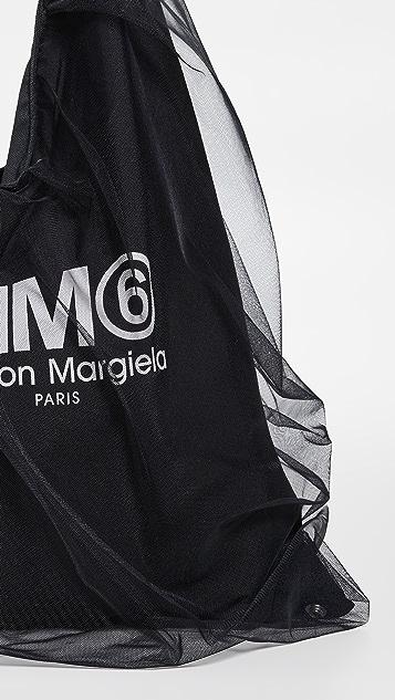 MM6 Maison Margiela 中号三角形手提袋