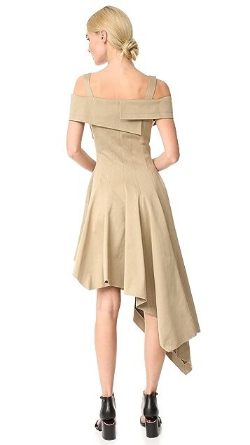 Monse 露肩式连衣裙