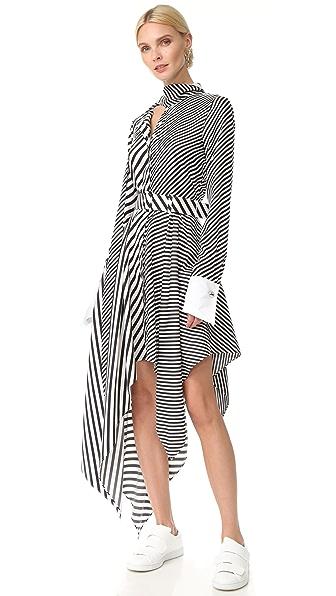 Monse 条纹连衣裙