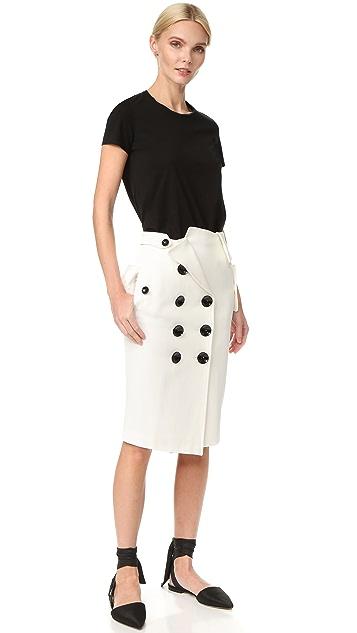 Monse 纽扣半身裙