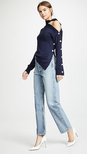 Monse 解构式开襟衫