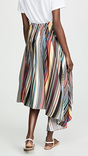 Monse 彩虹围巾式短裤