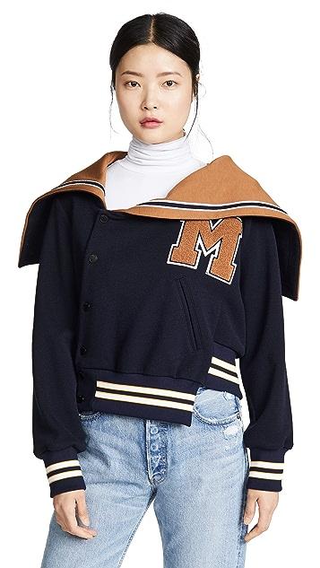 Monse Varsity 露肩短夹克