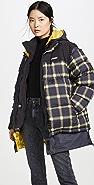 Monse 格子夹棉外套