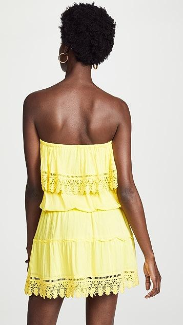 Melissa Odabash Joy 无肩带连衣裙