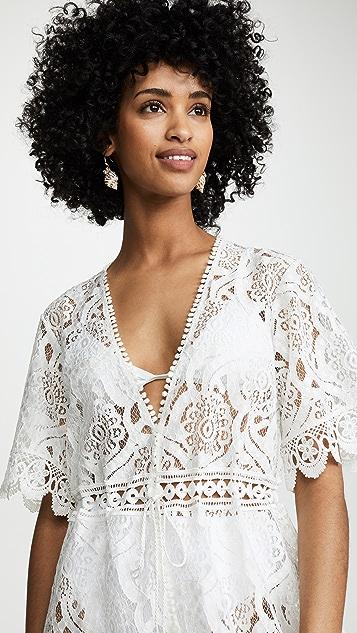 Melissa Odabash Gabrielle 罩衫