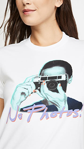 交织字母 No Photos T 恤